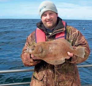Top Megrim of 2012 fell to Benny Carolan fishing out of Enniscrone