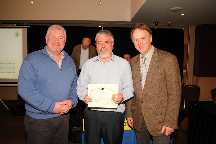 Jim Clohessy, Brian Cooke and Dr. Rober Rosell